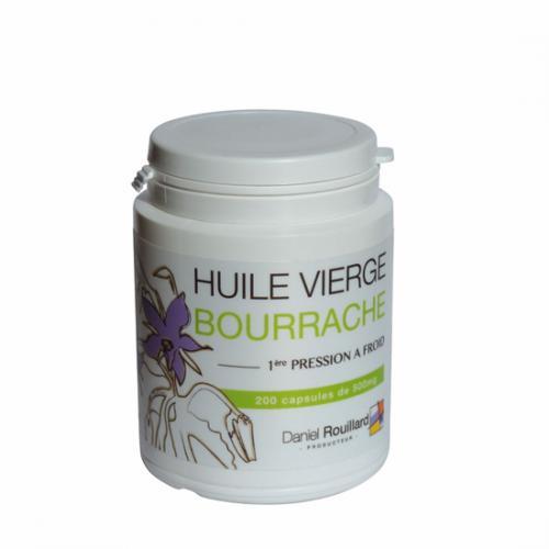Capsules d'huile de bourrache - Production Française