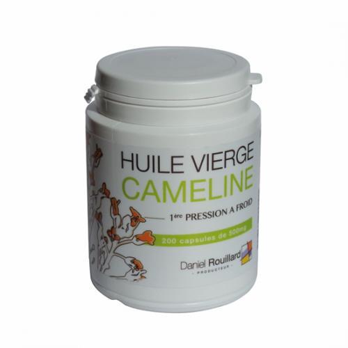 Capsules d'huile de cameline - Production Française