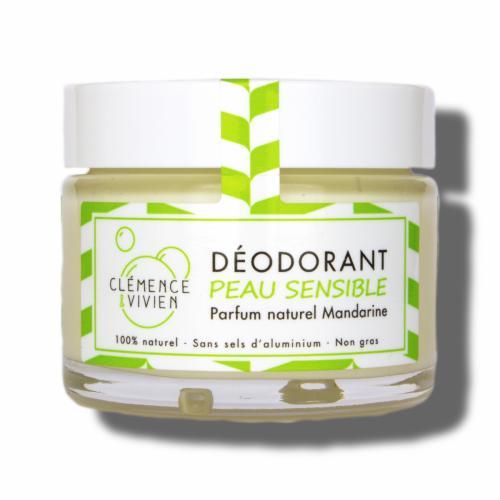 Déodorant naturel solide Mandarine Verte