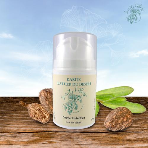 Crème Visage Protectrice - Karité - Dattier du desert BIO