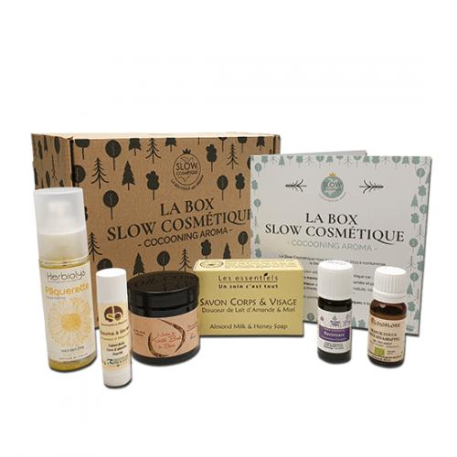 Box Slow Cosmétique Cocooning Aroma