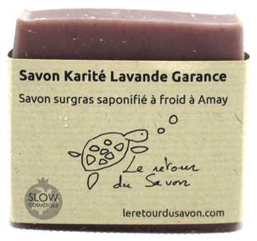 Savon Karité Lavande Garance