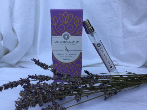Parfum 100% naturel et bio à la lavande de Majorque - 10 ml