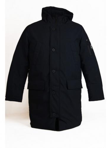 Manteau Groenland - Black - Ecoalf