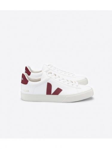 Campo ChromeFree Leather - White Marsala - Veja