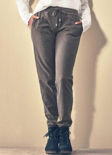 Pantalon sportswear en coton bio et chanvre