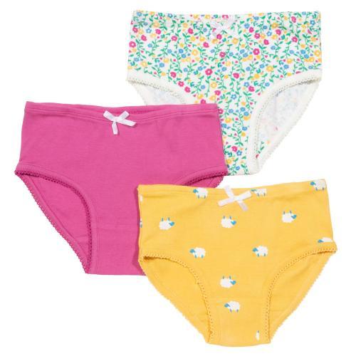 Pack de 3 culottes colorées