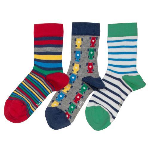 Pack de 3 paires de chaussettes Taille 36/38