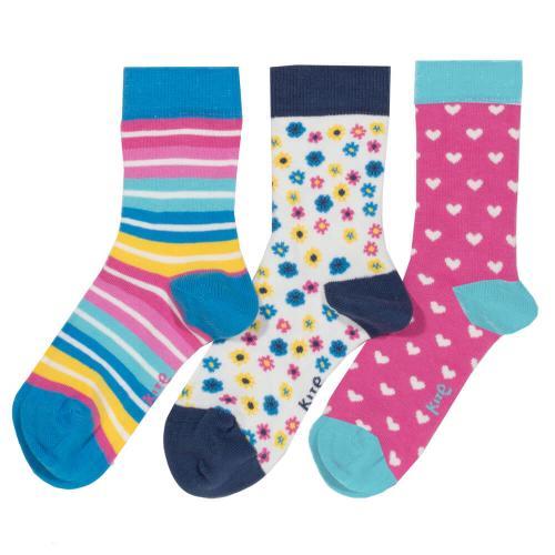 Pack de 3 paires de chaussettes fille