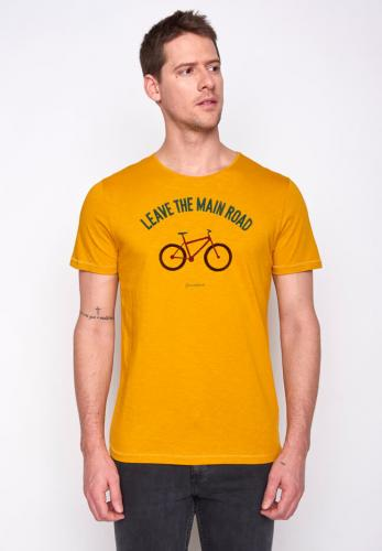 T-shirt vélo jaune