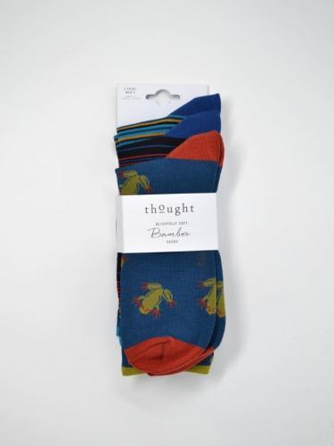 Hugh - pack de 3 paires de chaussettes homme