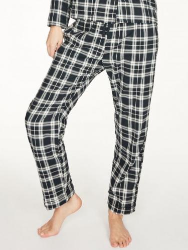 Pantalon pyjama à carreaux