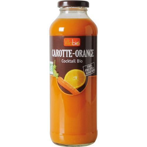 Jus de Carotte orange bio
