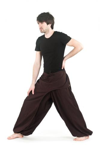Pantalon ethnik chic cache-tresors