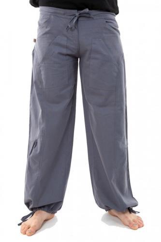 Pantalon hybride homme femme gris souris