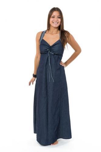 Robe longue jean denim doux originale Taly