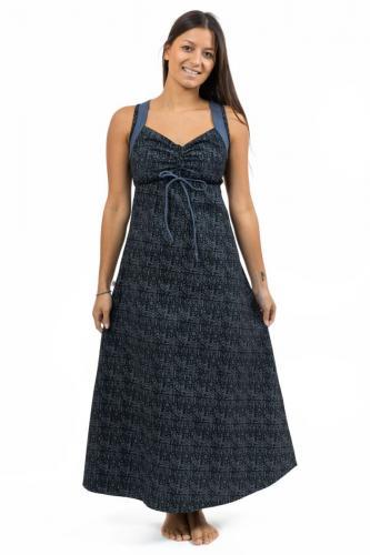Robe longue originale ethnic print Nylah