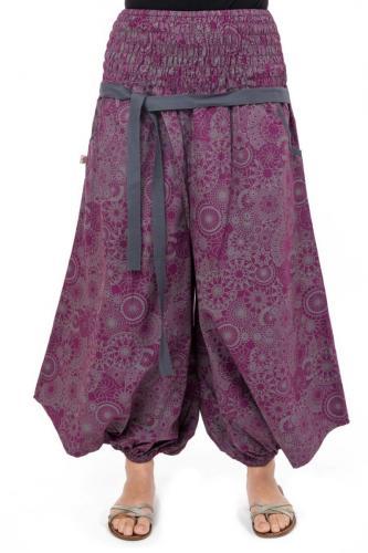 Pantalon sarwel femme print Buddhi