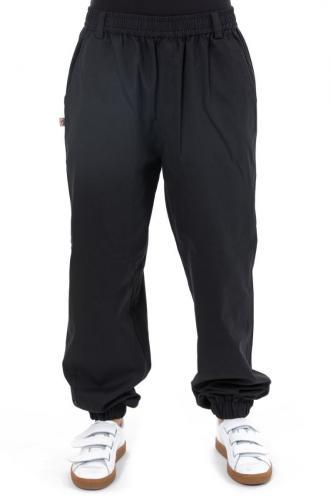 Pantalon noir uni elastique Matiha