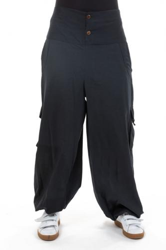 Pantalon japonais big pocket Javea