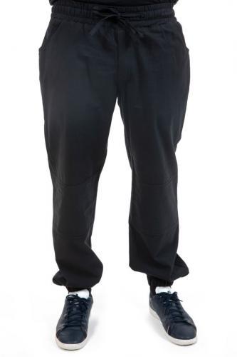 Pantalon style jogging noir mixte