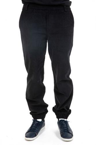 Pantalon large velours noir hiver