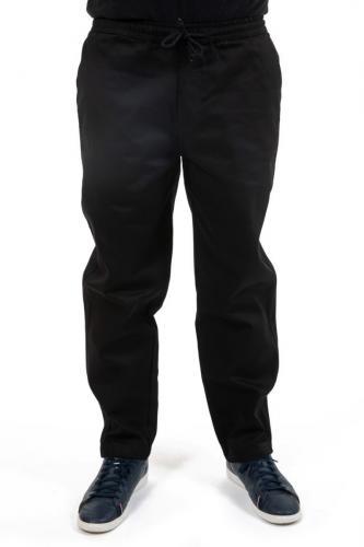 Pantalon large jean noir Gadha