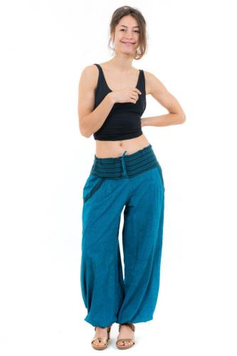 Pantalon aladin fluide femme Akoua personnalisable