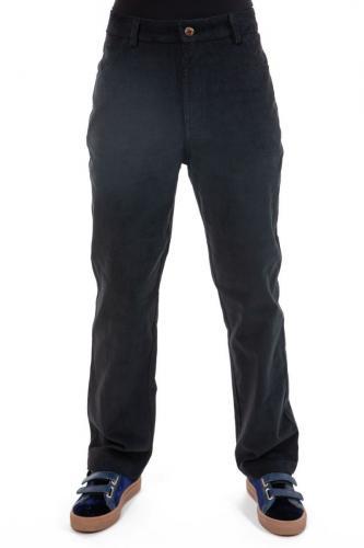 Pantalon velours fines cotes noir Ottarah