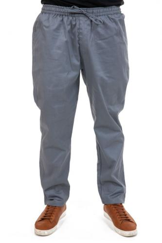 Pantalon large zen mixte gris