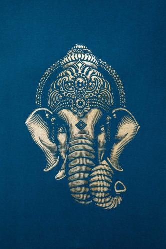 T-shirt homme éléphant sacré Ganesha