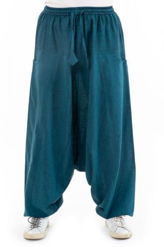 Pantalon sarwel femme blue zen Milanah