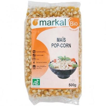 Maïs pop corn bio à éclater