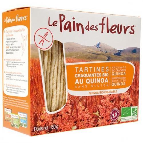 Tartines craquantes au quinoa bio