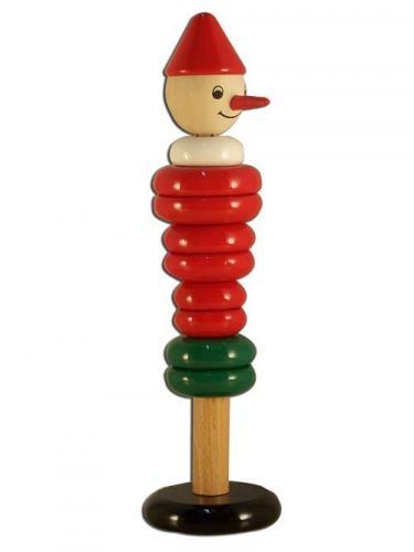 Jouet en bois empilable  Pinocchio