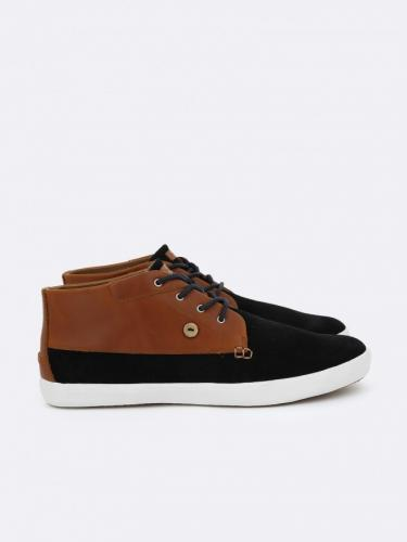 Wattle Suede/Leather Graphite/Tawny Faguo