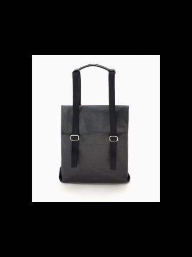 Small tote - Organic jet black - Qwstion