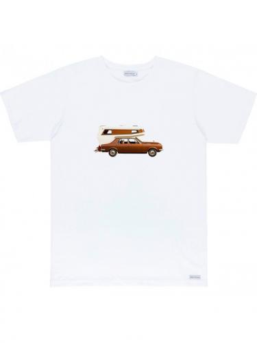 On The Road tee - White - Bask in the sun