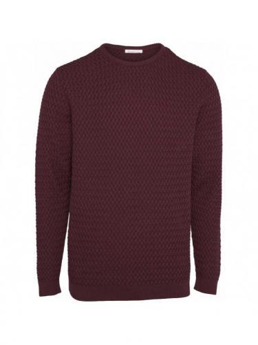 Small diamond Knit - Fig - Knowledge cotton apparel