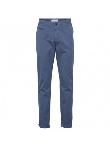 Chino Chuck regular - Dark Denim - Knowledge cotton apparel