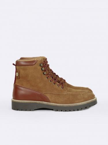 Boots Holly Suede - Brown - Faguo