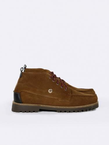 Larchmid Suede - Brown - Faguo