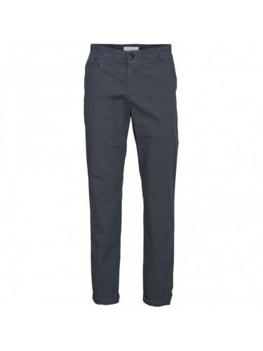 Chino Chuck regular light pant - Total Eclipse - Knowledge cotton apparel
