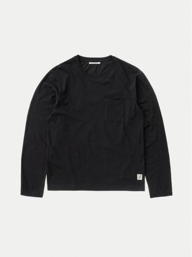 Rudi Pocket Tee - Black - Nudie Jeans