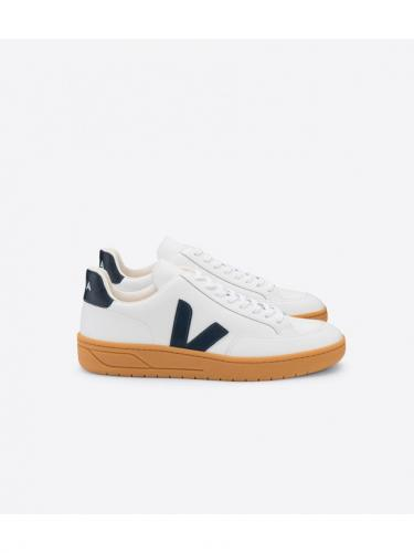 V12 Leather - Extra White Nautico - Gum Sole - Veja