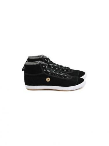 Teak Suede - Noir - Faguo shoes
