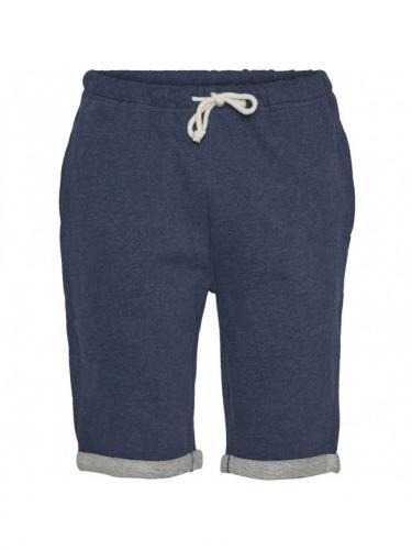 Teak Jog Short - Insigna Blue Melange - Knowledge cotton apparel