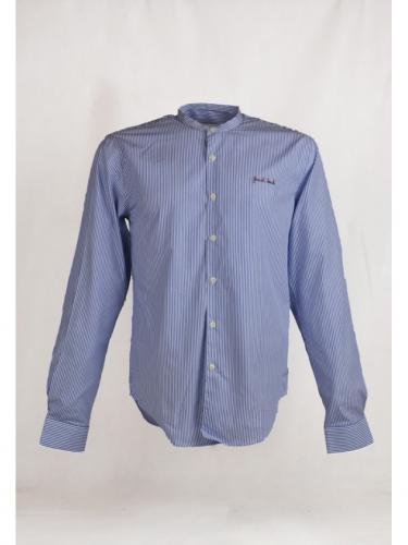 French Touch Shirt - Blue White - Maison Labiche