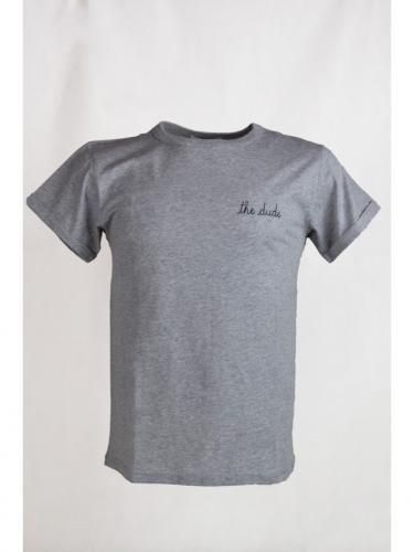 T-shirt The Dude - Light Heather Grey - Maison Labiche