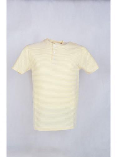T-shirt Ribas - Yellow Stripes - La Paz